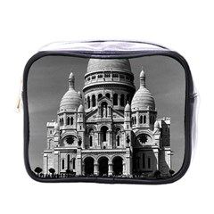 Vintage France Paris The Sacre Coeur Basilica 1970 Single-sided Cosmetic Case