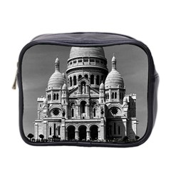 Vintage France Paris The Sacre Coeur Basilica 1970 Twin-sided Cosmetic Case
