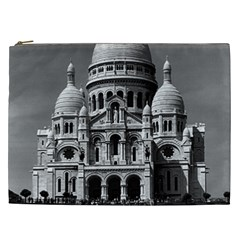 Vintage France Paris The Sacre Coeur Basilica 1970 Cosmetic Bag (xxl)