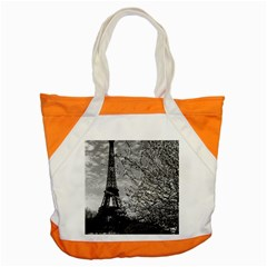 Vintage France Paris Eiffel tour 1970 Snap Tote Bag