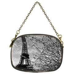 Vintage France Paris Eiffel tour 1970 Single-sided Evening Purse