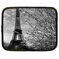 Vintage France Paris Eiffel tour 1970 15  Netbook Case