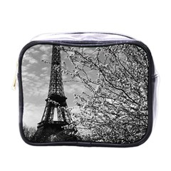 Vintage France Paris Eiffel tour 1970 Single-sided Cosmetic Case