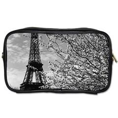 Vintage France Paris Eiffel tour 1970 Single-sided Personal Care Bag