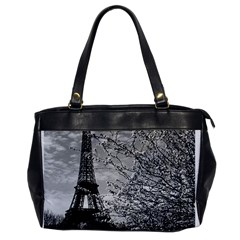 Vintage France Paris Eiffel tour 1970 Single-sided Oversized Handbag