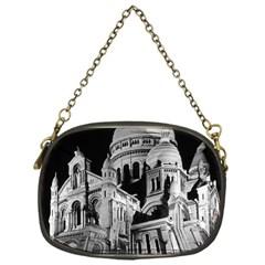 Vintage France Paris The Sacre Coeur Basilica 1970 Single-sided Evening Purse