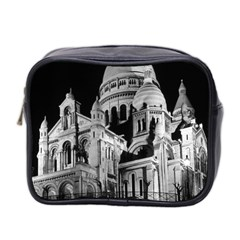 Vintage France Paris The Sacre Coeur Basilica 1970 Twin Sided Cosmetic Case