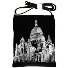 Vintage France Paris The Sacre Coeur Basilica 1970 Cross Shoulder Sling Bag