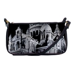 Vintage France Paris The Sacre Coeur Basilica 1970 Evening Bag