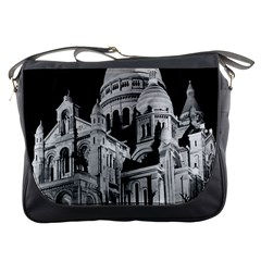 Vintage France Paris The Sacre Coeur Basilica 1970 Messenger Bag