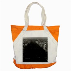 Vintage France Paris champs elysees avenue 1970 Snap Tote Bag