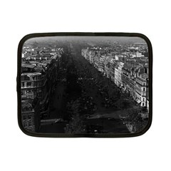 Vintage France Paris champs elysees avenue 1970 7  Netbook Case