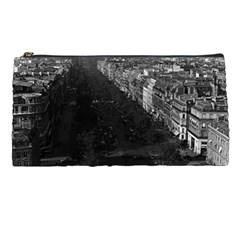 Vintage France Paris champs elysees avenue 1970 Pencil Case