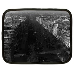 Vintage France Paris champs elysees avenue 1970 15  Netbook Case