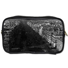 Vintage France Paris champs elysees avenue 1970 Single-sided Personal Care Bag
