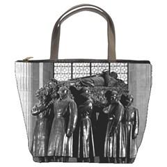Vintage France Paris  Invalides marshal foch tomb 1970 Bucket Handbag