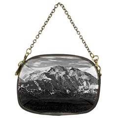 Vintage USA Alaska Beautiful Mt Mckinley 1970 Twin-sided Evening Purse