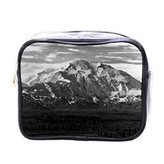 Vintage Usa Alaska Beautiful Mt Mckinley 1970 Single Sided Cosmetic Case