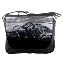 Vintage USA Alaska Beautiful Mt Mckinley 1970 Messenger Bag