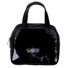 Vintage USA Alaska eskimo child 1970 Single-sided Satchel Handbag
