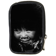 Vintage USA Alaska eskimo child 1970 Digital Camera Case