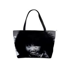 Vintage Usa Alaska Eskimo Child 1970 Large Shoulder Bag