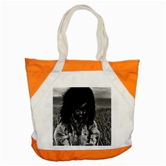 Vintage Usa  Alaska Eskimo Boy 1970 Snap Tote Bag