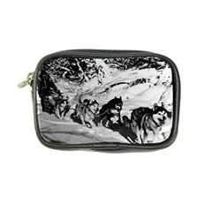 Vintage USA Alaska dog sled racing 1970 Ultra Compact Camera Case