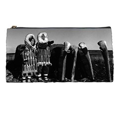 Vintage Fur Clad Eskimos Of Arctic Alaska Bu Sod Igloo Pencil Case