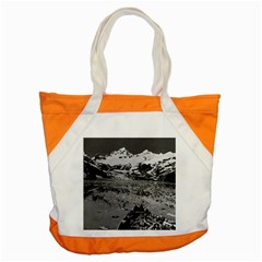 Vintage Alaska glacier bay national monument 1970 Snap Tote Bag