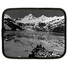 Vintage Alaska Glacier Bay National Monument 1970 12  Netbook Case