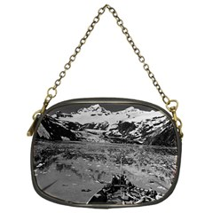Vintage Alaska glacier bay national monument 1970 Single-sided Evening Purse