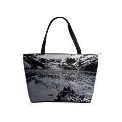 Vintage Alaska glacier bay national monument 1970 Large Shoulder Bag