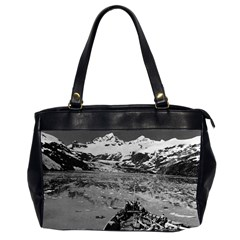 Vintage Alaska Glacier Bay National Monument 1970 Twin Sided Oversized Handbag