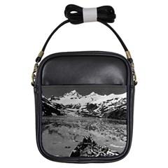Vintage Alaska glacier bay national monument 1970 Kids  Sling Bag