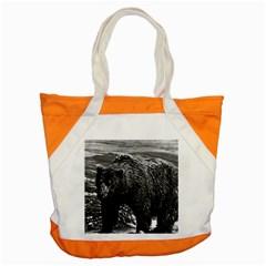 Vintage USA Alaska brown bear 1970 Snap Tote Bag