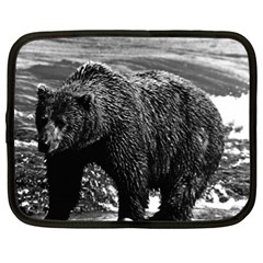 Vintage USA Alaska brown bear 1970 13  Netbook Case
