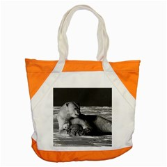 Vintage Usa Alaska Mother Polar Bear 1970 Snap Tote Bag