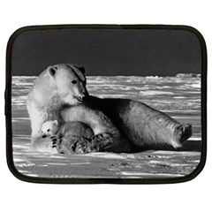 Vintage Usa Alaska Mother Polar Bear 1970 12  Netbook Case
