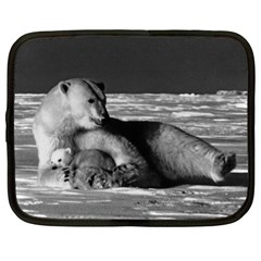 Vintage USA Alaska mother polar bear 1970 13  Netbook Case