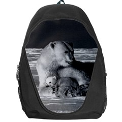 Vintage USA Alaska mother polar bear 1970 Backpack Bag