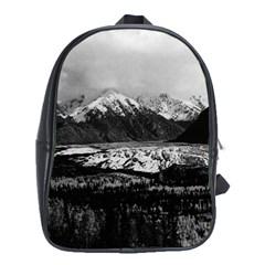 Vintage Usa Alaska Matanuska Clacier 1970 School Bag (xl)