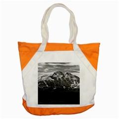 Vintage Usa Alaska Beautiful Mt Mckinley 1970 Snap Tote Bag