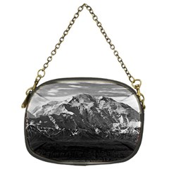 Vintage USA Alaska Beautiful Mt Mckinley 1970 Single-sided Evening Purse
