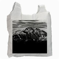 Vintage USA Alaska Beautiful Mt Mckinley 1970 Single-sided Reusable Shopping Bag
