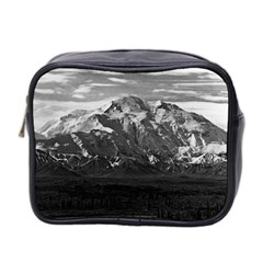 Vintage USA Alaska Beautiful Mt Mckinley 1970 Twin-sided Cosmetic Case