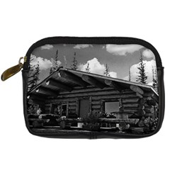 Vintage Usa Alaska Modern Alaskan Log Cabin 1970 Compact Camera Case