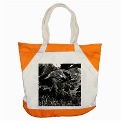 Vintage USA Alaska bull moose 1970 Snap Tote Bag