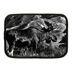 Vintage Usa Alaska Bull Moose 1970 10  Netbook Case