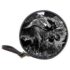Vintage USA Alaska bull moose 1970 CD Wallet
